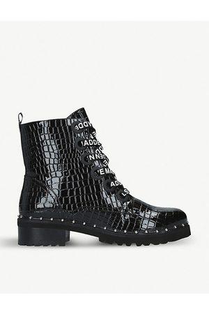 Steve Madden Tess stud-embellished leather ankle boots