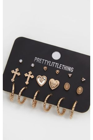 PRETTYLITTLETHING Small Hoop Earring Three Pack