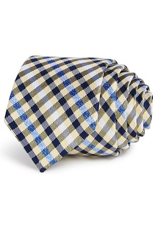 Michael Kors Boys' Heathered Gingham Silk Tie