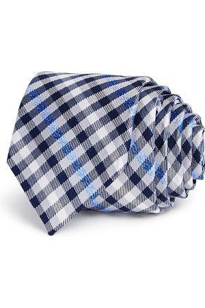 Michael Kors Boys' Gingham Silk Tie