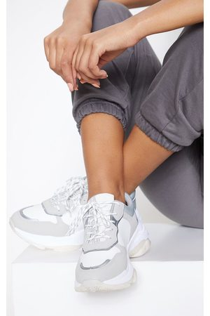PRETTYLITTLETHING Panel Sports Sneakers