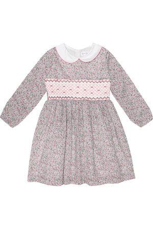 Rachel Riley Floral printed cotton dress