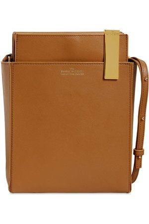 Rokh File Leather Shoulder Bag