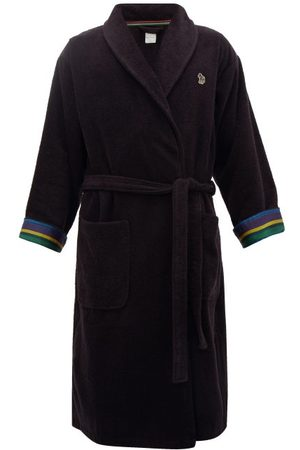 Paul Smith Zebra Terry-cloth Cotton Towel Robe - Mens