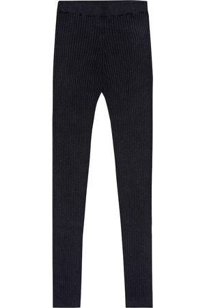 Loro Piana Ribbed cashmere leggings