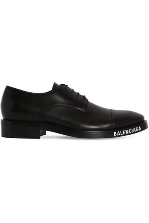 Balenciaga Faux Leather Derby Shoes