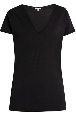 SKIN Women Pajamas - V-neck Pima-cotton Pyjama T-shirt - Womens