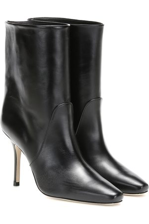 Stuart Weitzman Ebb leather ankle boots