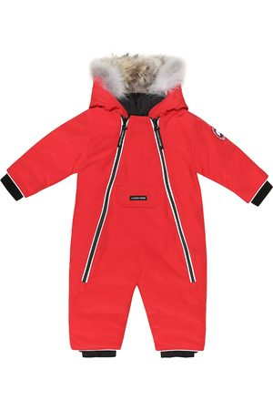 Canada Goose Kids Baby Lamb down snowsuit