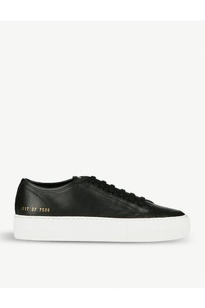 COMMON PROJECTS Men Sneakers - Tournament flatform leather trainers