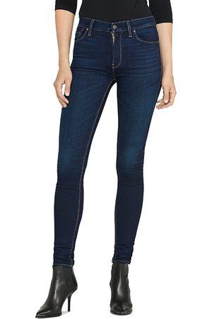 Hudson Women High Waisted - Barbara High Rise Super Skinny Jeans in Requiem