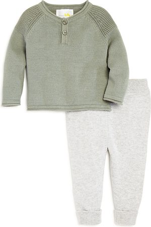 Bloomie's Boys' Henley Sweater & Knit Pants Set, Baby - 100% Exclusive
