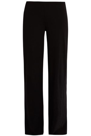 SKIN Double-layer Pima-cotton Pyjama Trousers - Womens