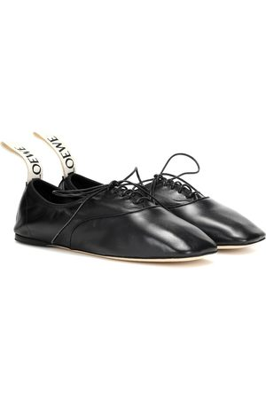 Loewe Women Formal Shoes - Leather derby shoes