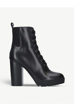 Steve Madden Latch faux-leather ankle boots