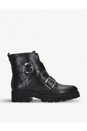 Steve Madden Hoofy leather biker boots
