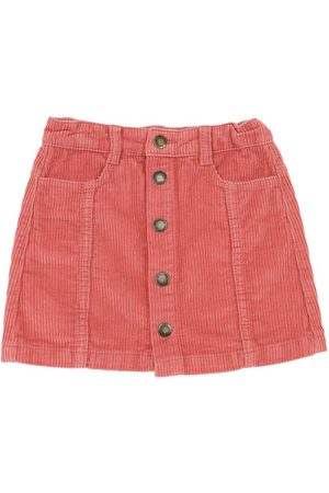 Molo Cotton Corduroy Mini Skirt