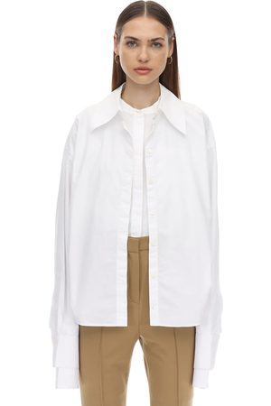 Rokh Layered Cotton Poplin Shirt