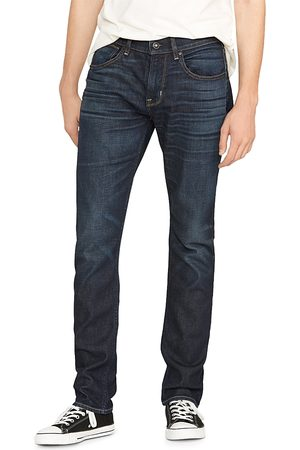 Hudson Blake Slim Straight Fit Zip Fly Jeans in Victory
