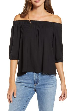 Loveappella Women's Off The Shoulder Top