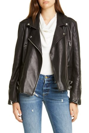 Frame Women's Pch Leather Moto Jacket