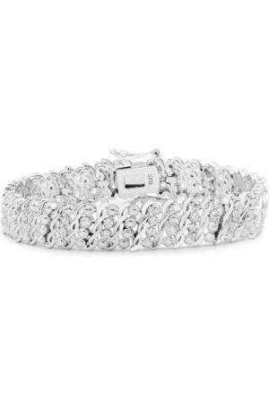 SuperJeweler Heavy 1 Carat Diamond Bracelet