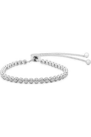 SuperJeweler 1 Carat Natural Diamond Adjustable Bolo Slide Tennis Bracelet