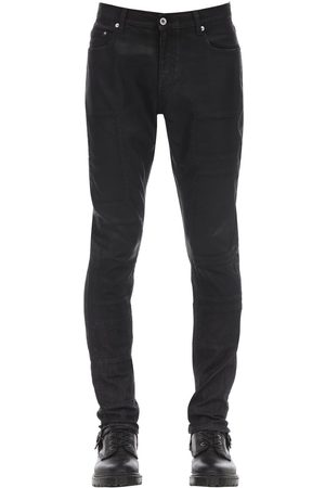FAITH CONNEXION Slim Coated Cotton Denim Jeans