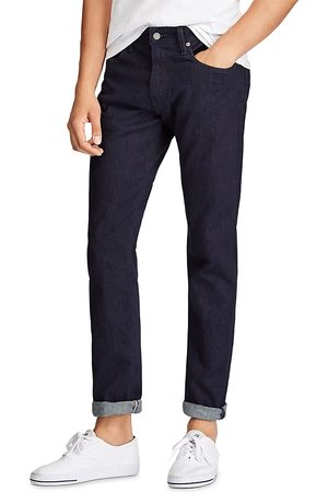 Polo Ralph Lauren Hampton Relaxed Straight Fit Jeans in Dark Miller