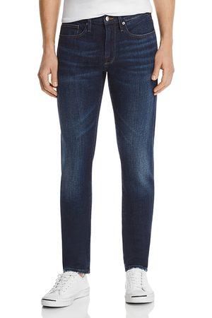 Frame Men Slim - L'Homme Slim Fit Jeans in Baltic