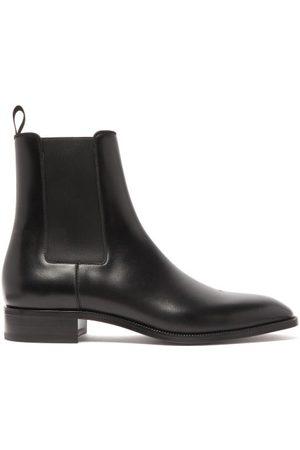 Christian Louboutin Samson Leather Chelsea Boots - Mens