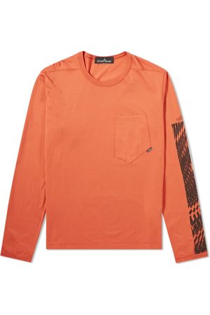 STONE ISLAND SHADOW PROJECT Long Sleeve Mako Print Tee