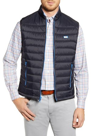 Johnnie-o Men's Hudson Classic Quilted Nylon Vest