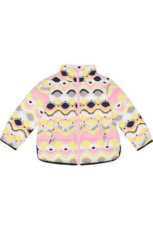 Emilio Pucci Printed puffer jacket