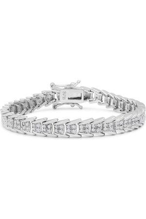 SuperJeweler 2 Carat Diamond Bracelet in Overlay