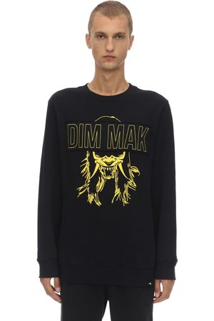 DIM MAK COLLECTION Dim Mak Demon Mask Cotton Sweatshirt