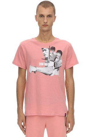 DIM MAK COLLECTION Bruce Lee Fist Cotton Jersey T-shirt