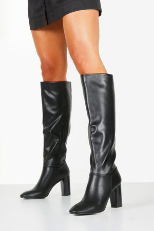 Boohoo Womens Block Heel Knee Boots - - 5