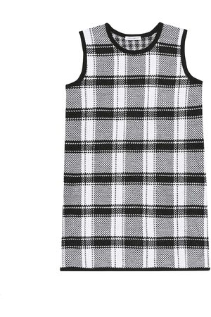 Dolce & Gabbana Checked wool dress