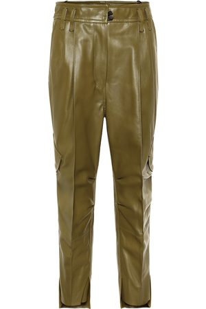 PETAR PETROV Hailey leather cargo pants