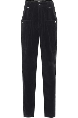 Isabel Marant Derrisy cotton-moleskin pants
