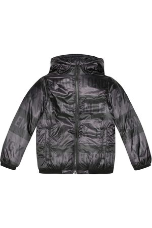Emporio Armani Printed puffer jacket
