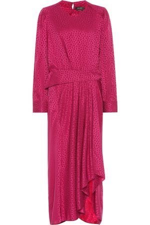Isabel Marant Romina stretch-silk dress