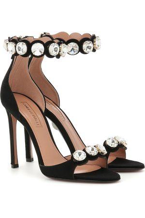 SAMUELE FAILLI Ely 105 embellished suede sandals