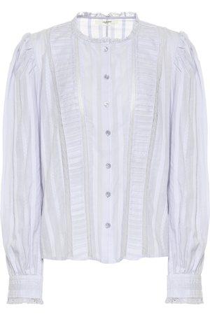 Isabel Marant, Étoile Peachy cotton blouse