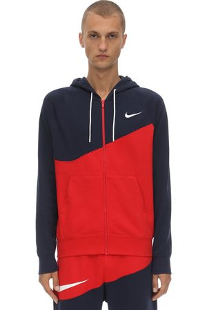 Nike Nsw Swoosh Fz Ft Cotton Blend Hoodie