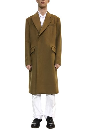 RAF SIMONS Virgin Wool & Cashmere Coat