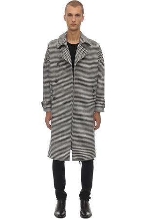 BOTTEGA MARTINESE Cotton Blend Houndstooth Coat