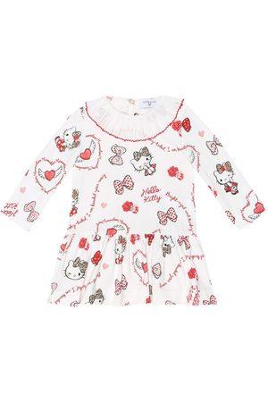 MONNALISA Baby printed stretch-cotton dress