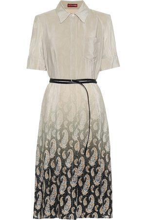 Altuzarra Kieran belted silk dress